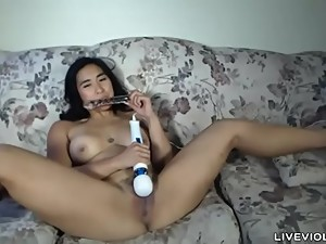 Filipina bbc lover MiaLi with belly..